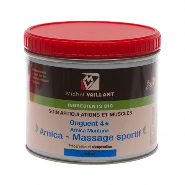 Onguent 4* Arnica Massage Sportif Michel VAILLANT